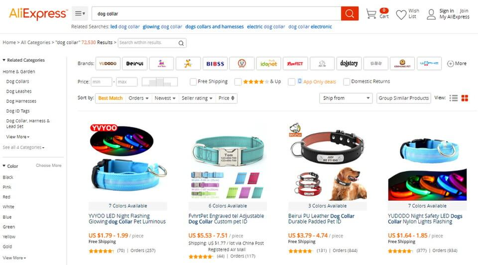aliexpress drop shipping