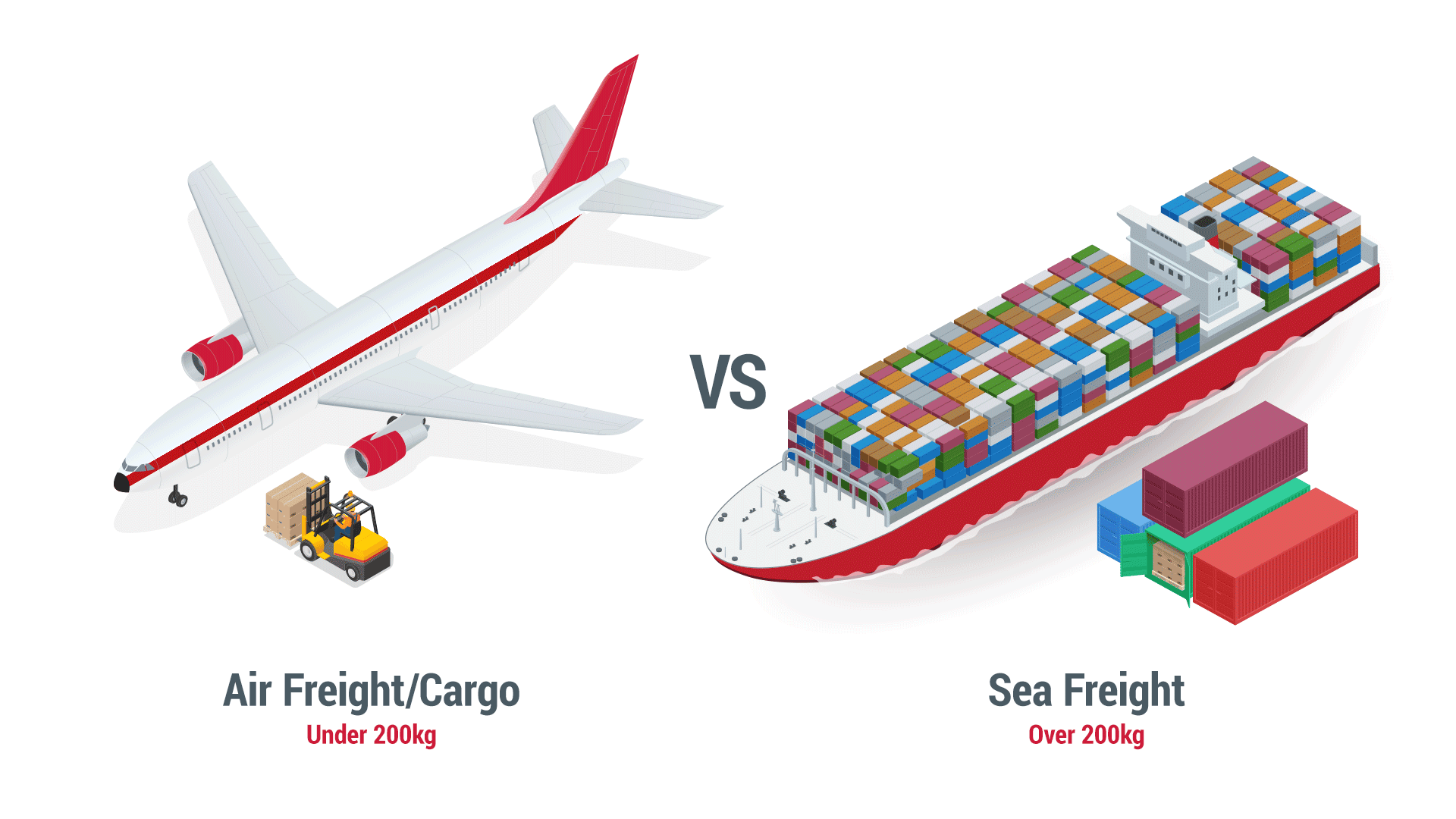Air Freight vs Sea Freight